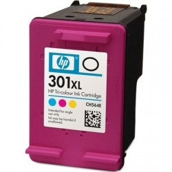 Cartridge HP č. 301 XL CMY - CH564EE - EcoJet