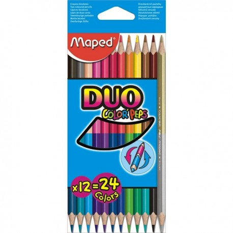 Pastelky Maped 12 ks Color`Peps Duo